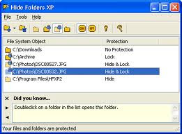 How to Hide Folder Options