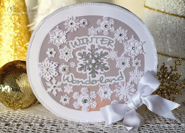 Winter Wonderland - A 3D Lit Winter Wall Decoration   SVGCuts Files