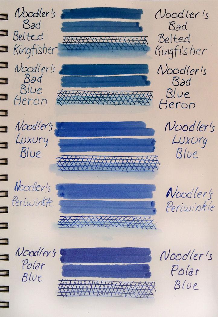 Hudson Valley Sketches: Noodler's Eternal Inks Lightfast ...