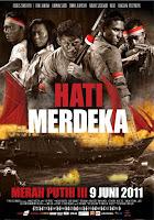 Setelah menuntaskan misi yang berakhir tragis dengan kehilangan anggota kelompok ini Download Film Merah putih 3 - Hati Merdeka (2011) DVDRip