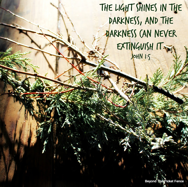 devotional about light overcoming darkness