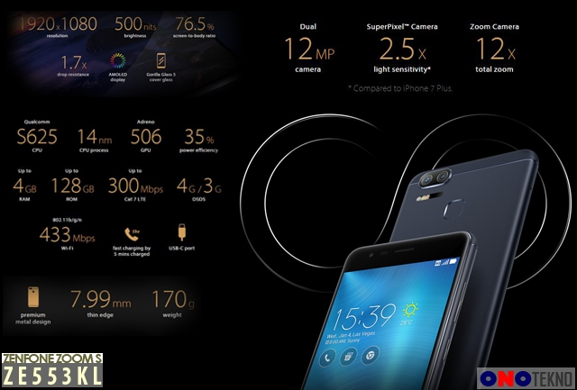 "Zenfone Zoom S ""Smartphone Ideal Bagi Pecinta Photography """
