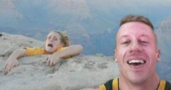selfie salah