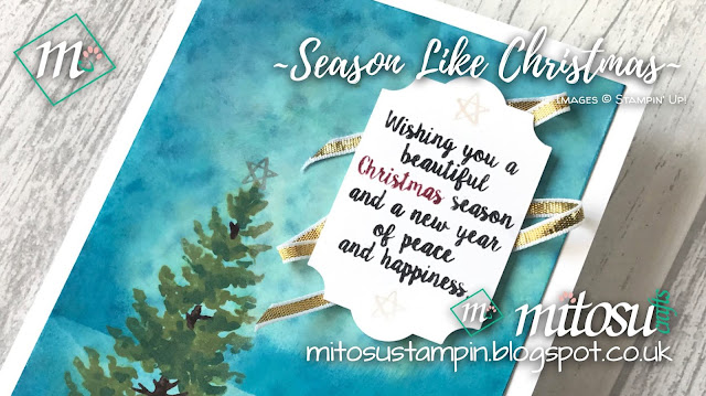 Stampin' Up! Season Like Christmas & Everyday Label Punch order from Mitosu Crafts UK Online Shop