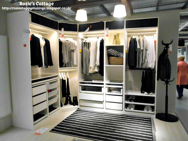 Ikea Corner Closet Display