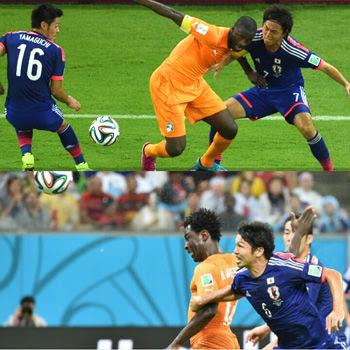日本対コートジボワール