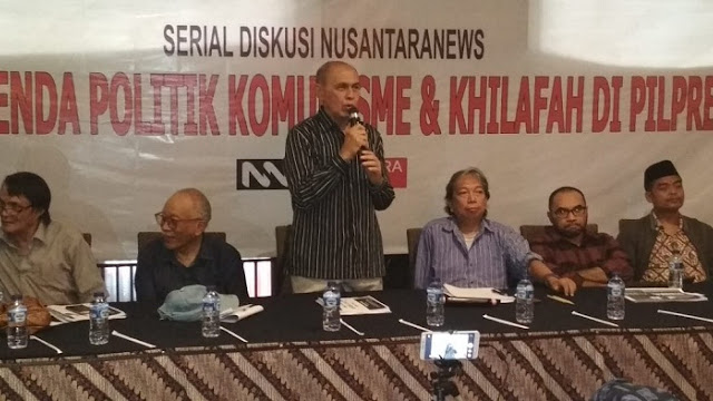 Kivlan Zen Tuduh Tiga Partai Pendukung Jokowi Gandeng Komunis