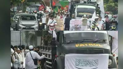 """UMAT Islam Dari Daerah Menuju Jakarta, """"TEMANI"""" Habib Rizieq Yang akan Diperiksa Polisi"""
