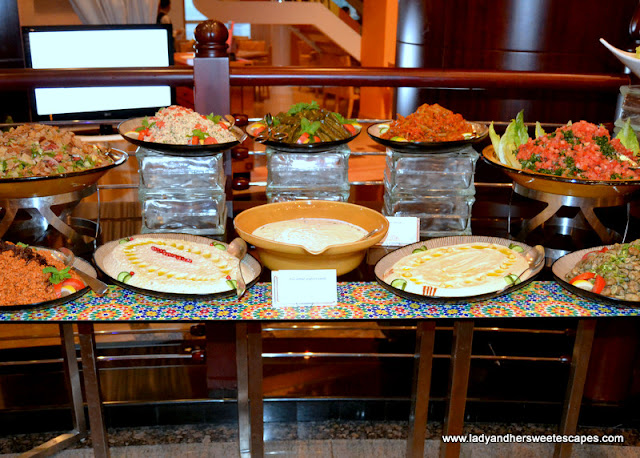 Arabic Mezze at Dusit Thani