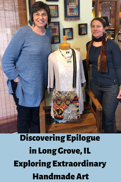 Discovering Epilogue in Long Grove and an Interview with Rachel Perkal exploring American handmade art