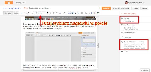 Jak pisać posty pod wyszukiwarkę?