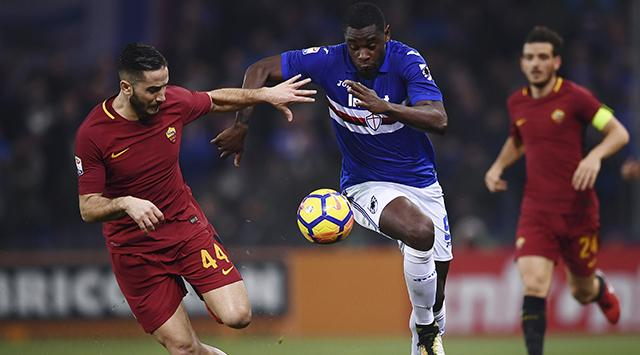 Sampdoria Memberi Kejutan Atas AS Roma