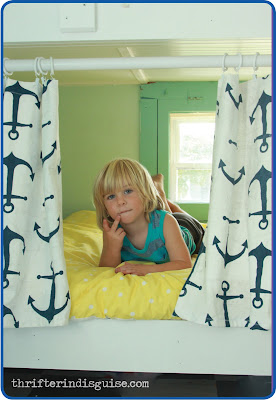 Custom Kids Bunk Beds and Curtains