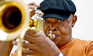 Hugh Masekela is a world-renowned musician and political leader