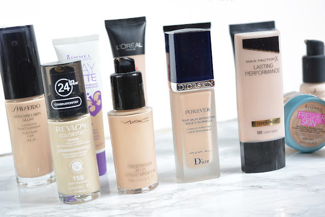 My foundation collection