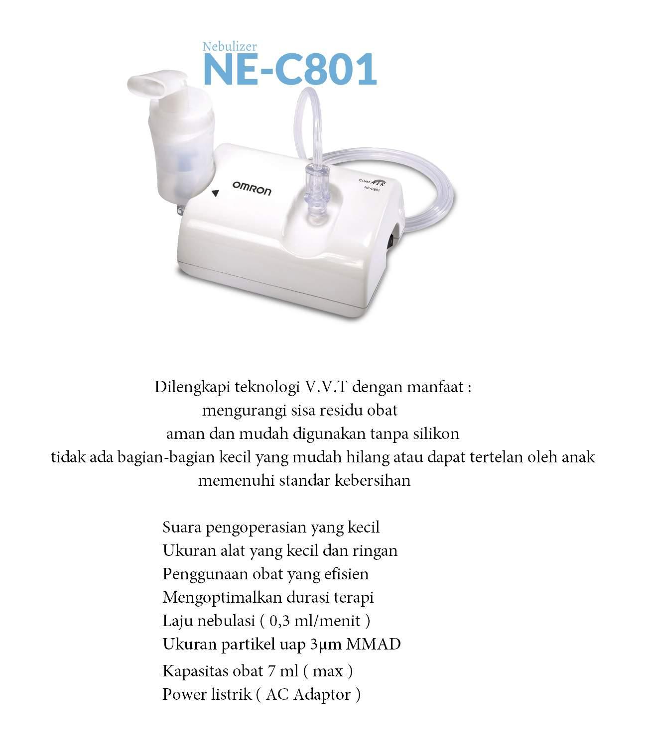 OMRON Nebulizer NE-C801