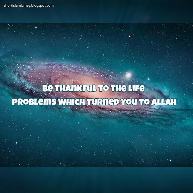 problem thankful Allah
