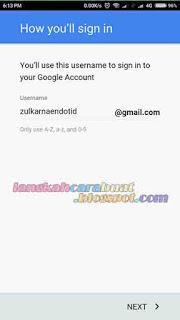 Cara Membuat Email Gmail di HP Android