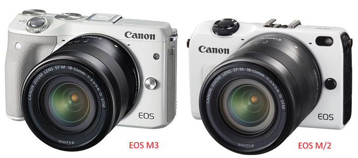New Canon EOS M3 mirrorless DSLR release rumors - February 2015