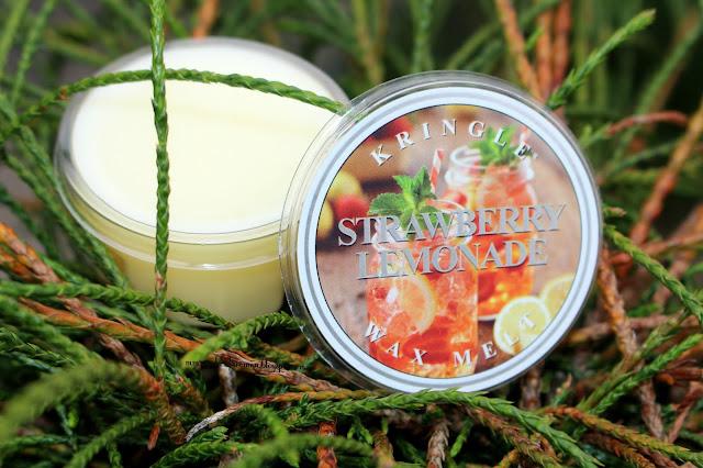 Strawberry Lemonade Kringle Candle