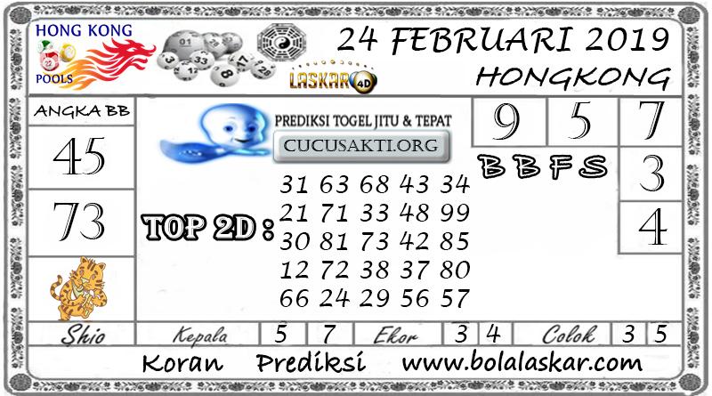 Prediksi Togel HONGKONG LASKAR4D 24 FEBRUARI 2019
