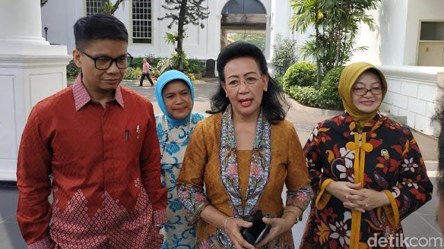 Bertemu Jokowi, GKR Hemas Bicara Polemik Kepemimpinan DPD