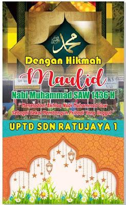 Acara Maulid Nabi Muhammad SAW di SDN Ratujaya 1