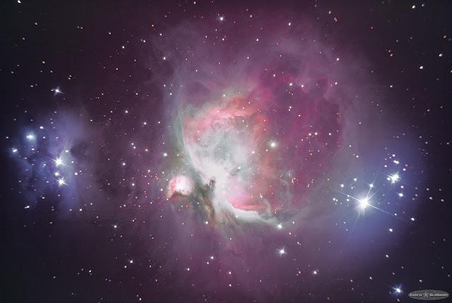 La Grande Nébuleuse d'Orion (M42)
