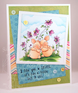 Heather's Hobbie Haven - Petunia & Penny take a Break Card Kit