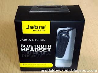 Zestaw słuchawkowy Bluetooth Jabra BT2045 z Biedronki