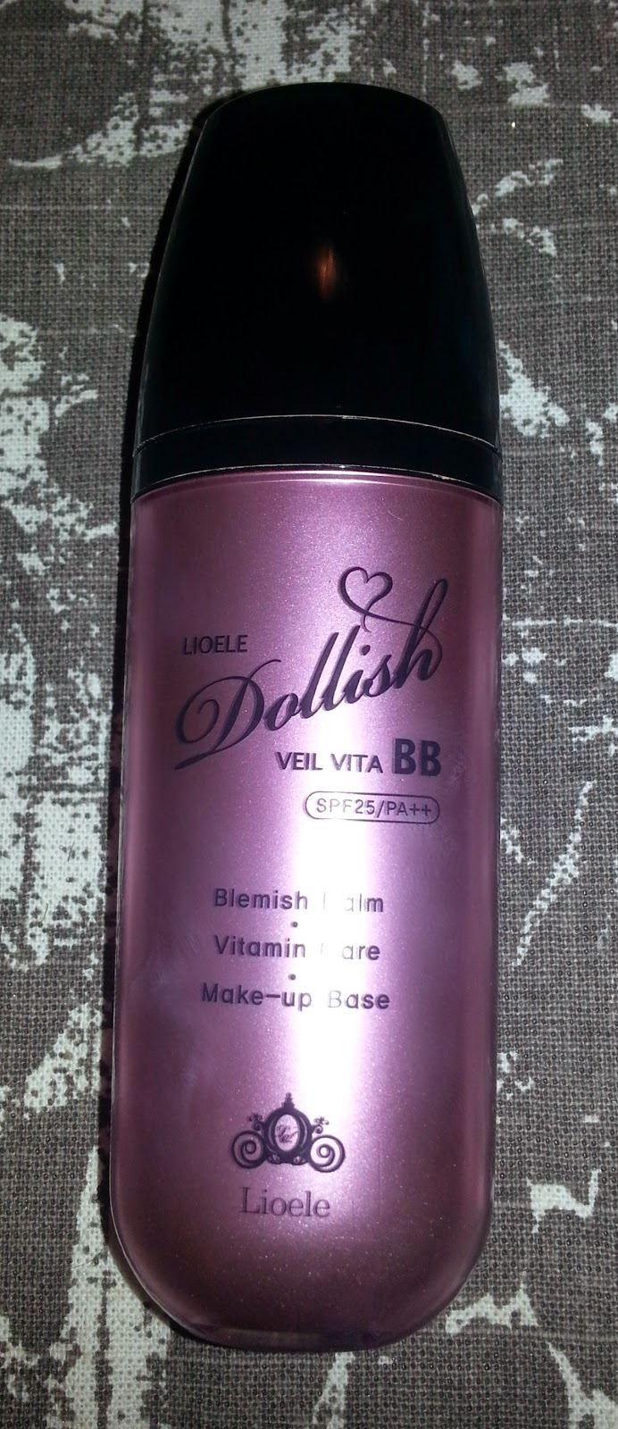 Liole Dollish Veil Vita BB Cream in Gorgeous Purple
