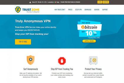 Review VPN Premium Terbaik dan Termurah di Trust.Zone VPN
