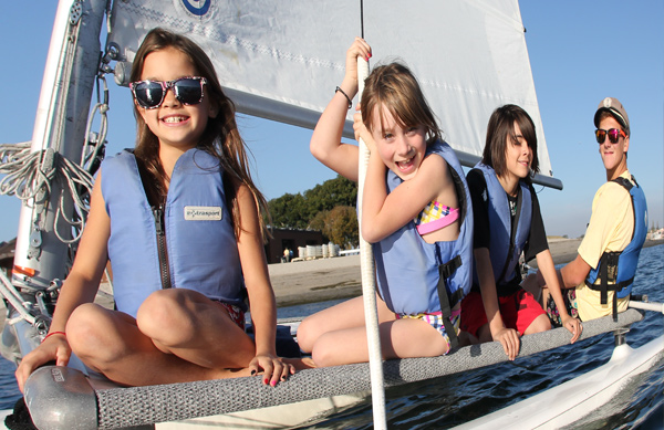 Sail your day away at spring camp!
