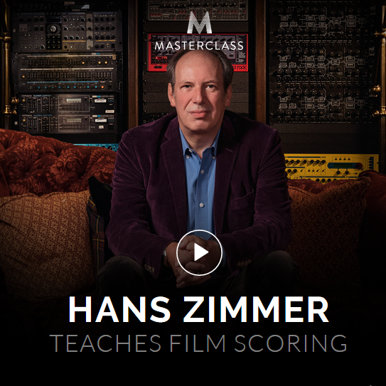 Hans Zimmer's MasterClass! Learn film scoring, composition, and collaboration from...