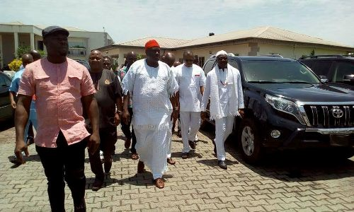 Former Delta state governor, James Ibori bags Chieftaincy title (PHOTOS)