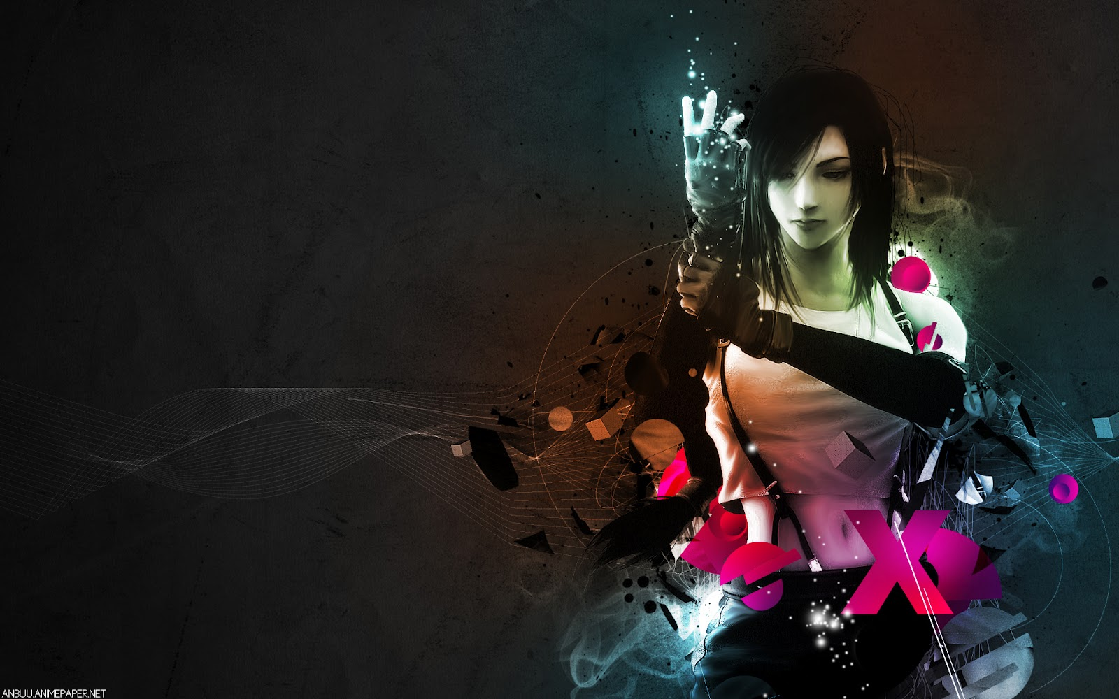 Tifa Lockhart Final Fantasy Artwork Hd Fantasy Girls 4k: Valentine Day 2014: Tifa Lockheart Hd Wallpaper