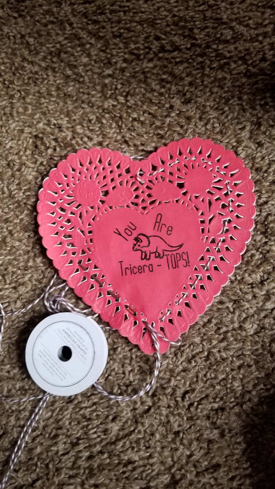 Fields Of Heather: Candy Filled Valentine Doilies - Writing