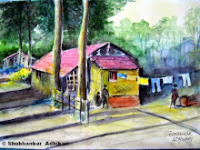 Paintings by Shubhankar Adhikari