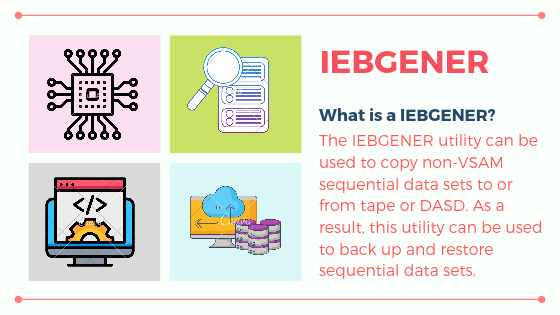iebgener jcl examples