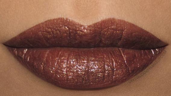 Urban Decay Vice Lipstick Vintage Swatch Roach