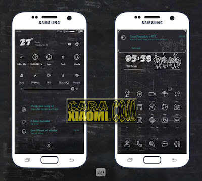 Link Download Theme MIUI Kapur Mtz Themes For Xiaomi Versi Terbaru