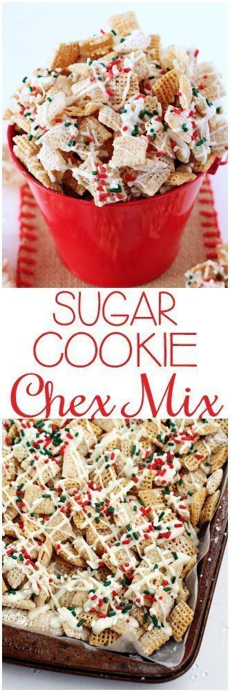 awesome Sugar Cookie Chex Party Mix