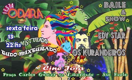 0512d7102fd Autobiografia na Música   Atualizações - Trabalhos Avulsos (Edy Star   Os  Kurandeiros - Show Tropicália 50 Anos) - Capítulo 86 - Por Luiz Domingues