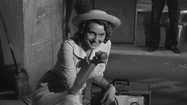 Patricia Neal as Marcia Jeffries, in A Face in the Crowd, Directed by Elia Kazan