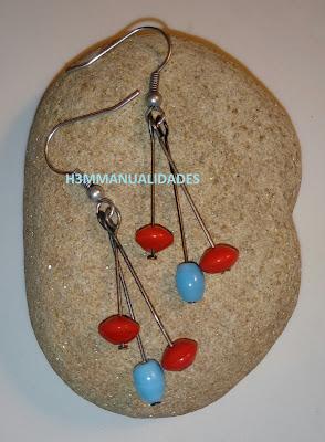 pendientes-rojo-turquesa-hippie