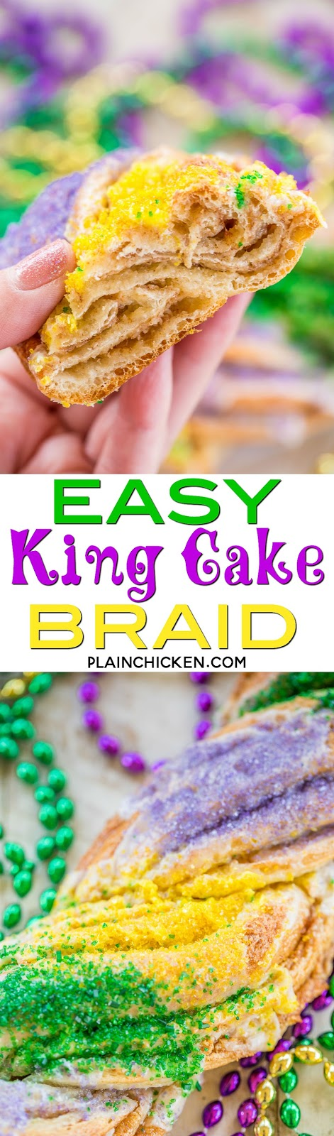 Recipe For King Cake Icing