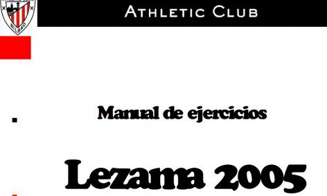 ENTRENAMIENTOS FÚTBOL ATHLETIC CLUB (LEZAMA 2005