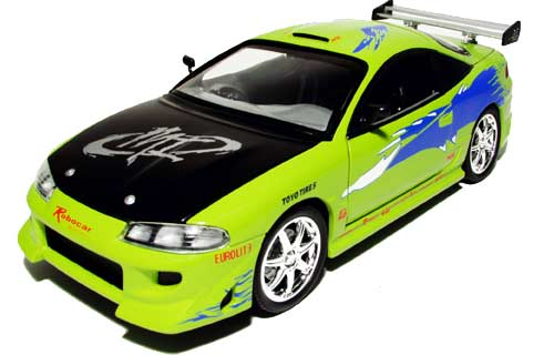fast auto  fast and furious eclipse car