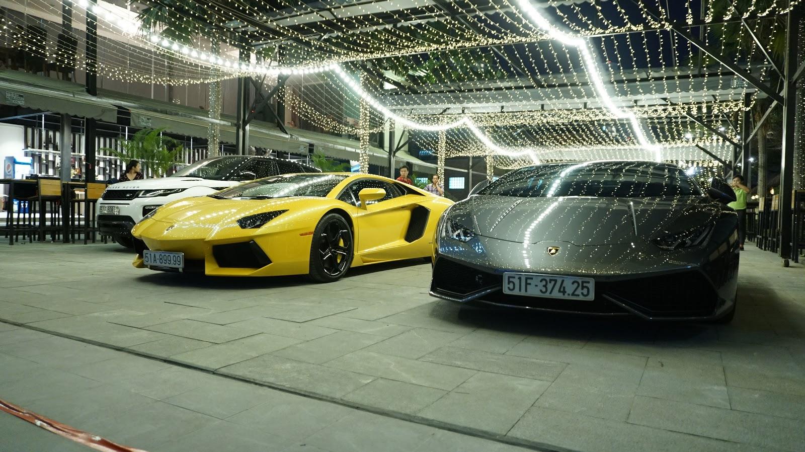 Huracan, Aventador, R8...và cả Land Rover đến chúc mừng chủ xe Lamborghini Aventador LP700-4