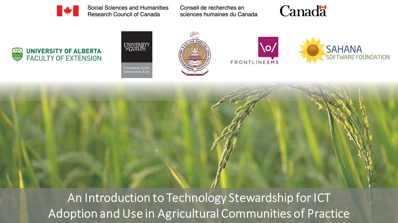Mobilizing knowledge for sustainable agriculture august 2016 one step closer to the launch of a course on technology stewardship to promote information and communication technology ict adoption in agricultural toneelgroepblik Gallery